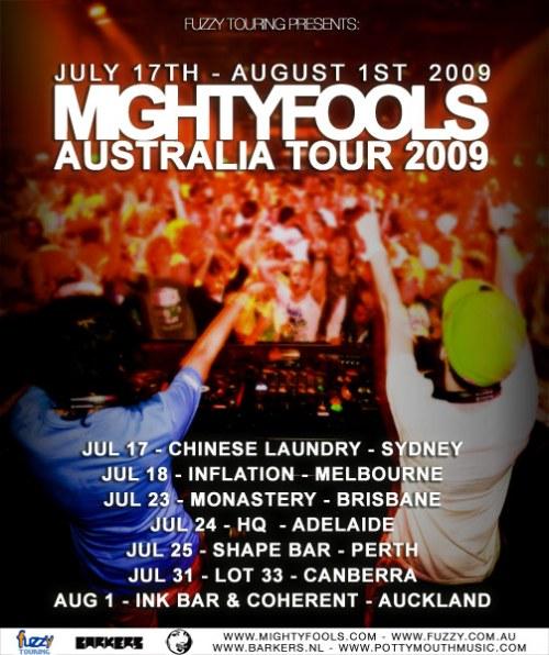 Mightyfools_Australia_Tour