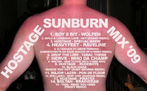 hostage sunburn mix